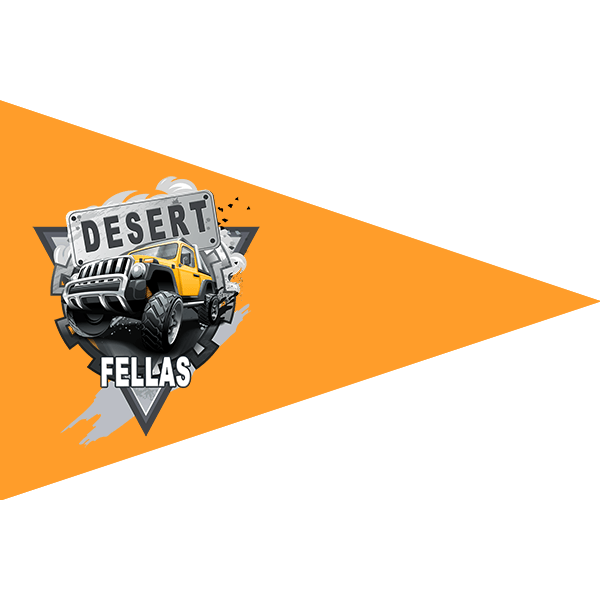 Desert Fellas – Team Leader Flag