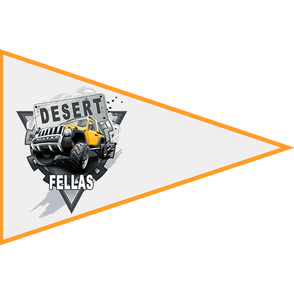 Desert Fellas – Member Flag